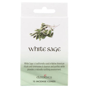 Spirit Earth White Sage Incense Cones