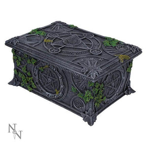 Spirit Earth Wiccan Pentagram Tarot Box