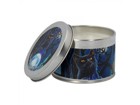 Spirit Earth Witches Apprentice Tin Candle