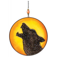 Spirit Earth Wolf Light Catcher