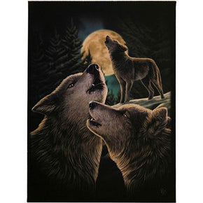 Spirit Earth Wolf Song Canvas