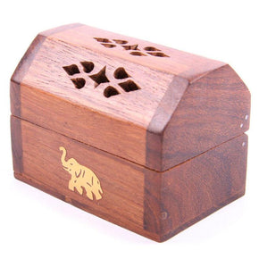 Spirit Earth Wooden Box - Elephant