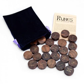Spirit Earth Wooden Runes