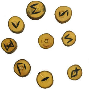 Spirit Earth Wooden Runes - Poplar