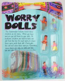 Spirit Earth Worry Doll Set
