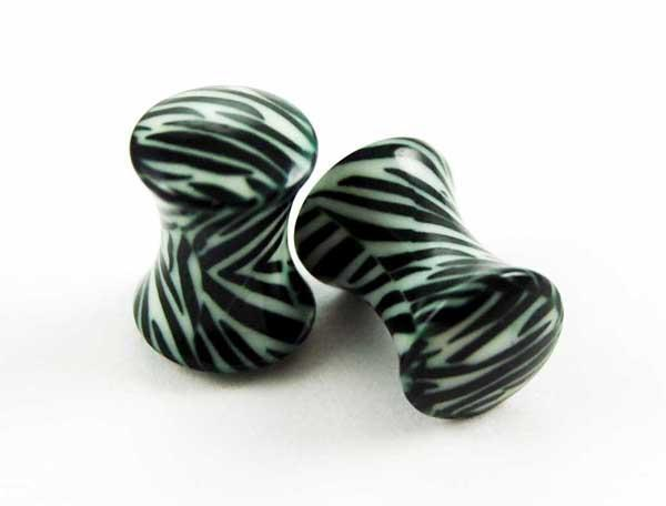Spirit Earth Zebra Print Plug