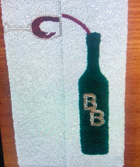 Beaded Wine Purse