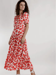 OCTAVIA LONG FLORAL DRESS