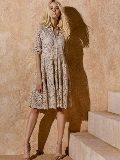 ITALIAN LACEY DRESS