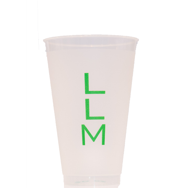 100, 20oz Shatterproof Cups w/ Custom Monogram