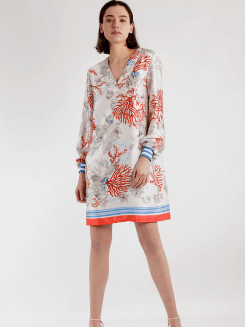 MALVINA LONG SLEEVE DRESS