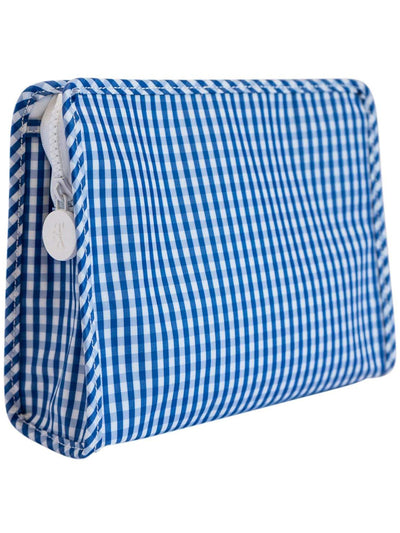 MEDIUM GINGHAM ROADIE COSMETIC