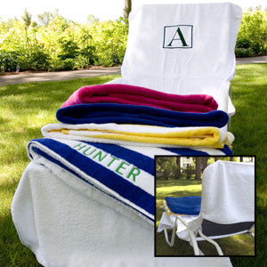 Terry Lounge Chair Cover
