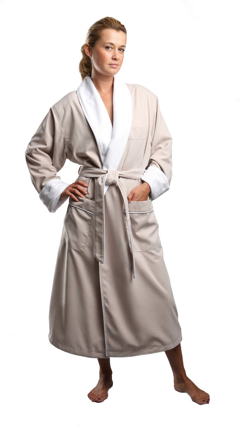 Microfiber Monogram Spa Robe