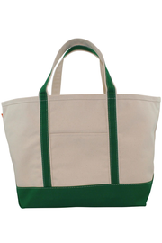Boat Tote Monogram Goods Hunter Green