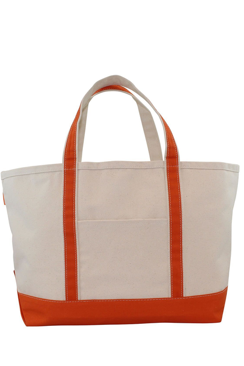 Boat Tote Monogram Goods Orange