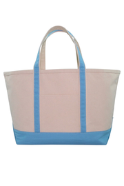 Monogram Goods Boat Tote Baby Blue