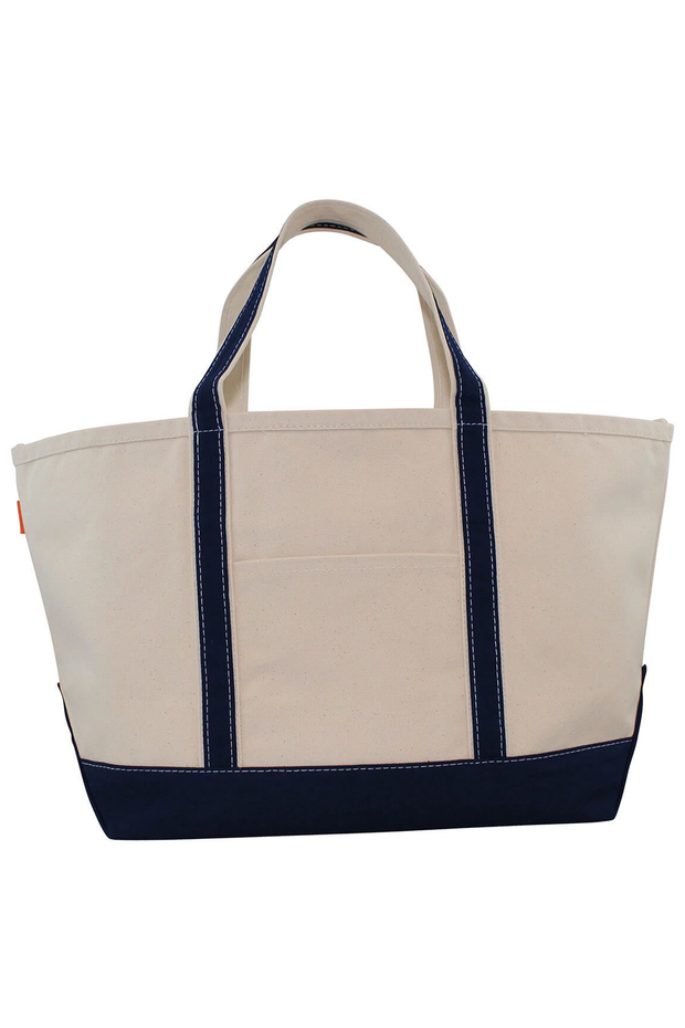 Monogram Goods Boat Tote Navy
