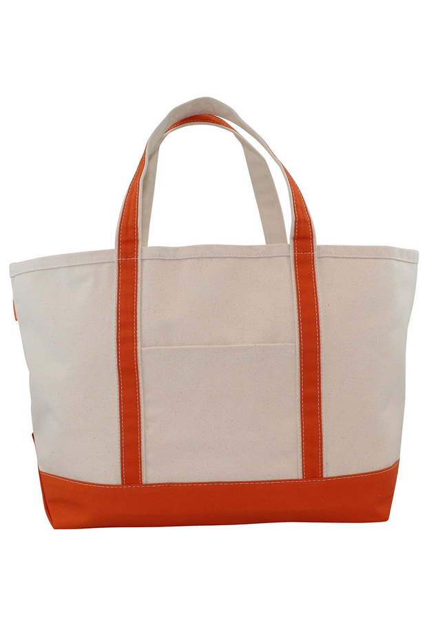 Monogram Goods Boat Tote Orange
