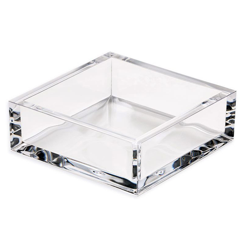 Monogram Goods Caspari Acrylic Napkin Holder Cocktail Top