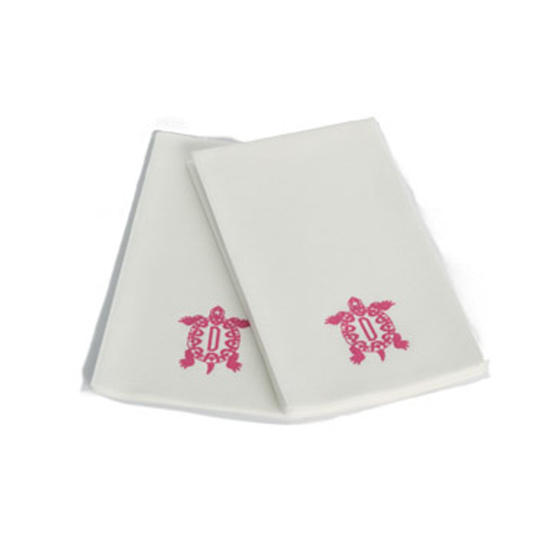 100 Monogram Paper Guest Towels
