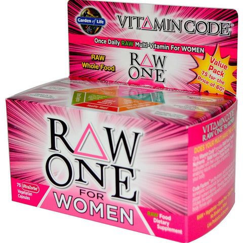 Garden of Life Women's Supplements