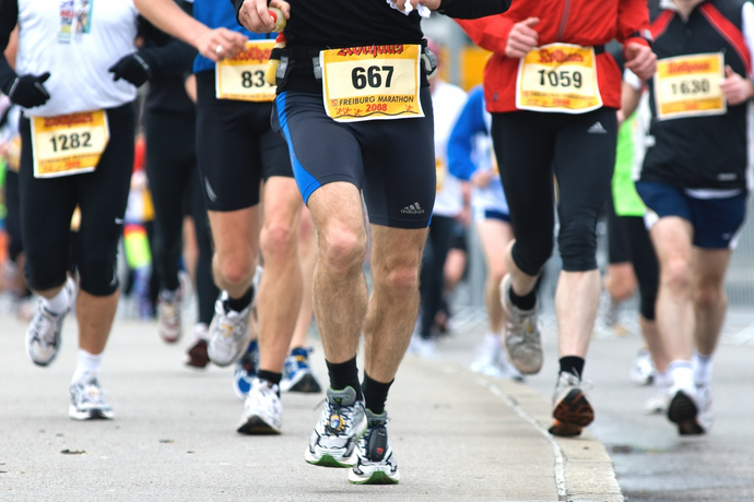 What happens to your body during a marathon?