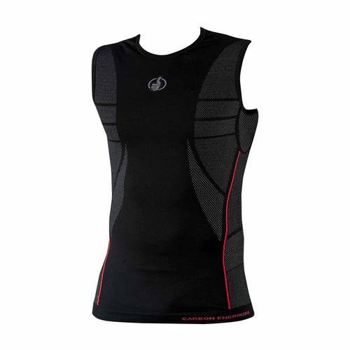 CARBON ENERGIZED BASE LAYER VEST
