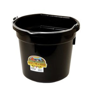 Little Giant Flat Back Bucket Black