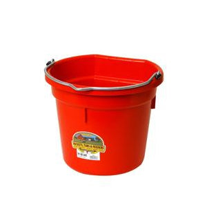 Little Giant Flat Back Bucket Red