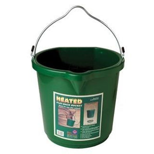 Heated Flat Back Bucket 5 gal.