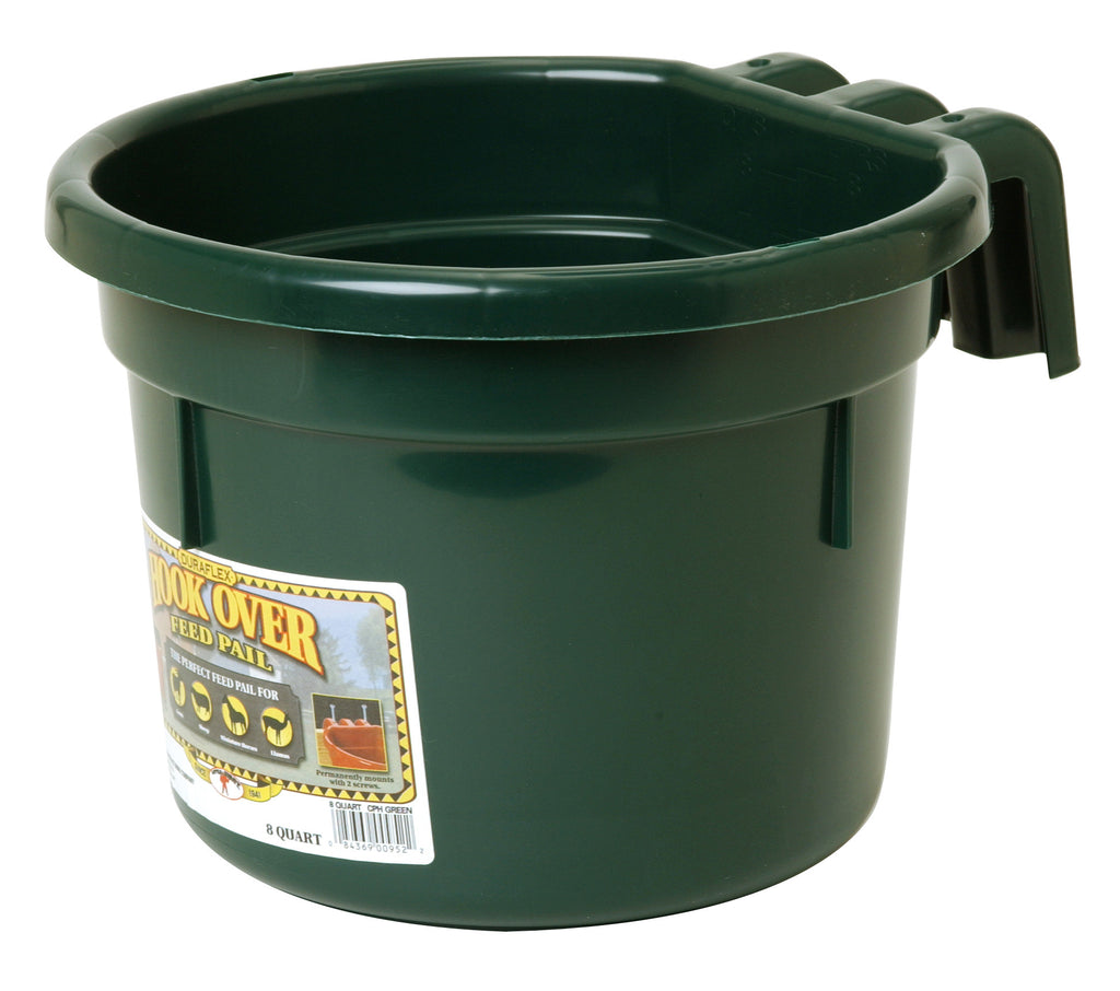 Hook Over Feed Pail 8 Quart