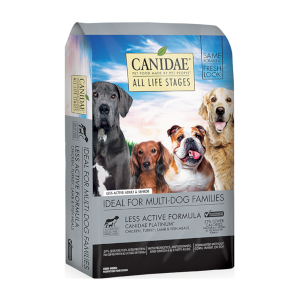 CANIDAE® All Life Stages Platinum Less Active Dog Dry Food Multi-Protein Formula