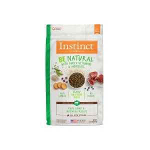 Instinct Be Natural Real Lamb & Oatmeal Recipe
