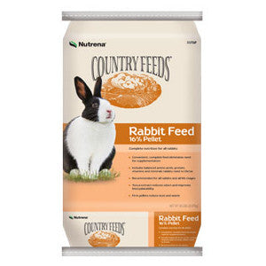 Country Feeds 16% Rabbit Feed, 50 Lb.