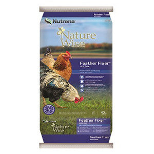 NatureWise Feather Fixer Poultry Feed, 40 Lb.