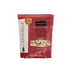 Ginger Ridge Stable Snax with Flax Seed & Vanilla Flavor