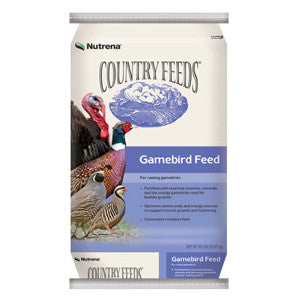 Country Feeds Gamebird Grower, 50 Lb.