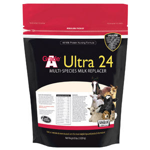 Grade A Ultra 24 Multi-Species Milk Replacer 25 Lb.