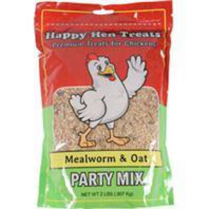 Happy Hen Party Mix Mealworm & Oat