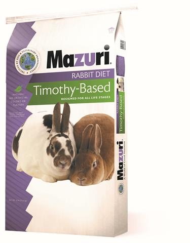 Mazuri® Rabbit Diet with Timothy 25 lb.