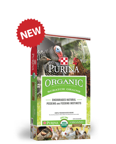 Purina Organic Scratch Grains 35 Lb.