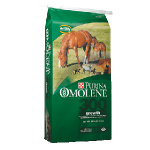 Purina Omolene #300 Growth Horse Feed