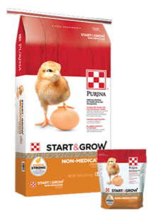 Purina® Start & Grow® Non-Medicated Chick Starter 25lb