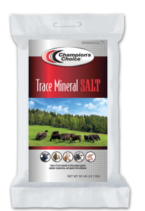 Champions Choice Trace Mineral Salt, 50 Lb.