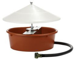 Automatic Poultry Waterer with Cover