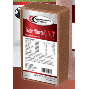 Champions Choice Trace Mineral Brick / Block 4 Lb. Case of 9