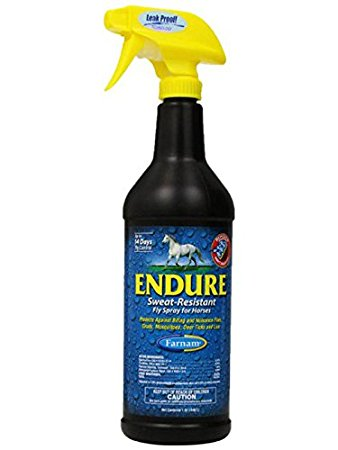 Endure® Sweat-Resistant Fly Spray for Horses 1 Qt.