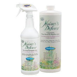 Nature's Defense® Water-based Fly Repellent Spray and Concentrate