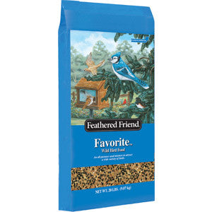 Feathered Friend Favorite Birdseed 40#